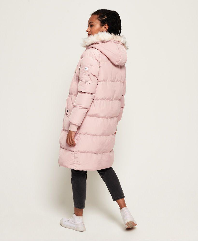 Superdry Luxe Longline Puffer Jacket