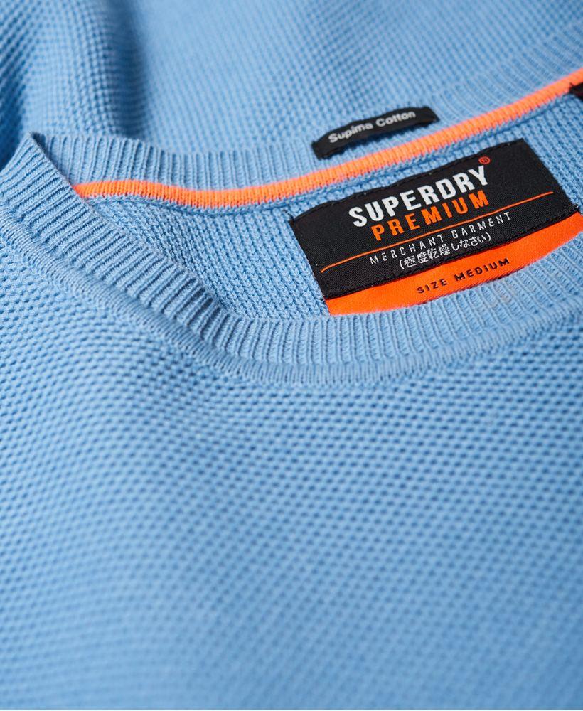 Superdry SUPIMA® Cotton Crew jumper