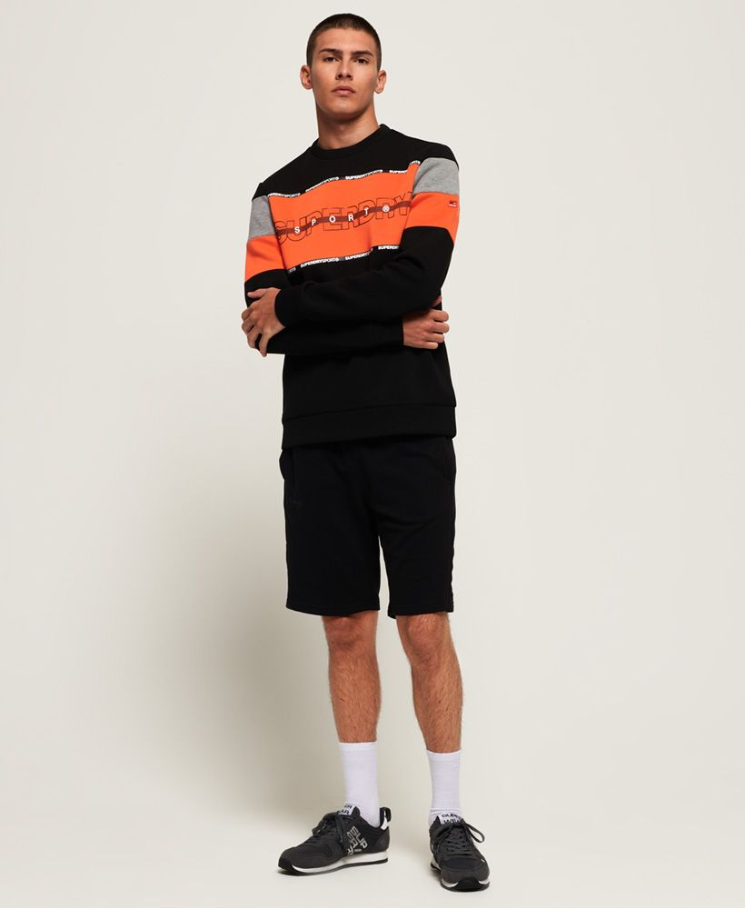 Superdry Gym Tech Cut Crew Sweatshirt