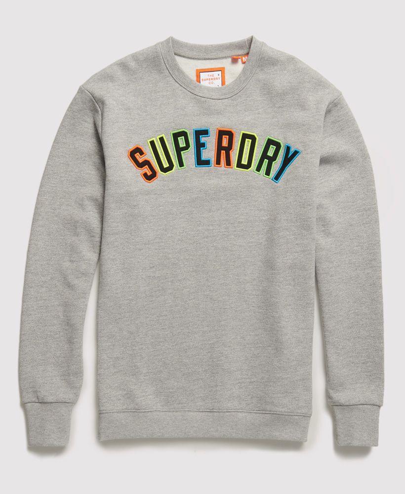 Superdry New House Rules Applique Crew Sweatshirt