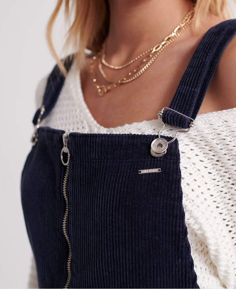 Superdry Phoebe Cord Dungarees