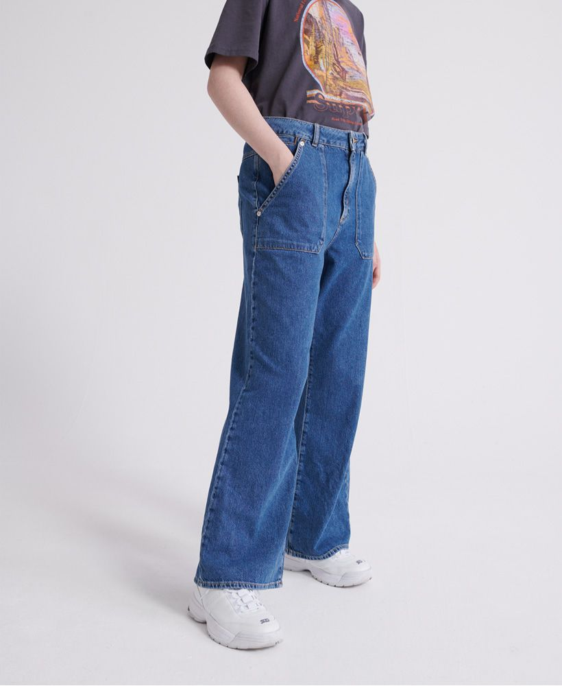 Superdry Frankie Wide Leg Jeans