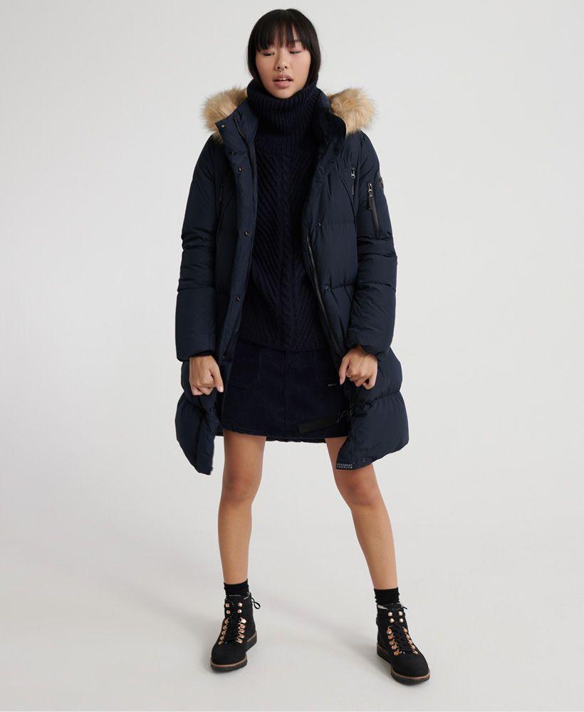 Superdry Premium Down Louisa Coat