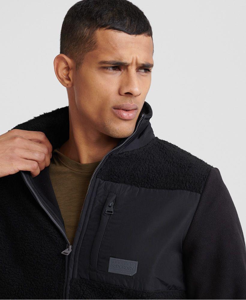 Superdry Sherpa Desert Modern Zip Through Jacket
