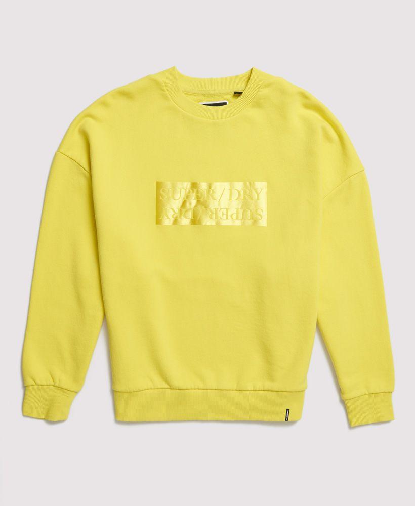 Superdry Edit Slouchy Crew Neck  lightweight Sweatshirt