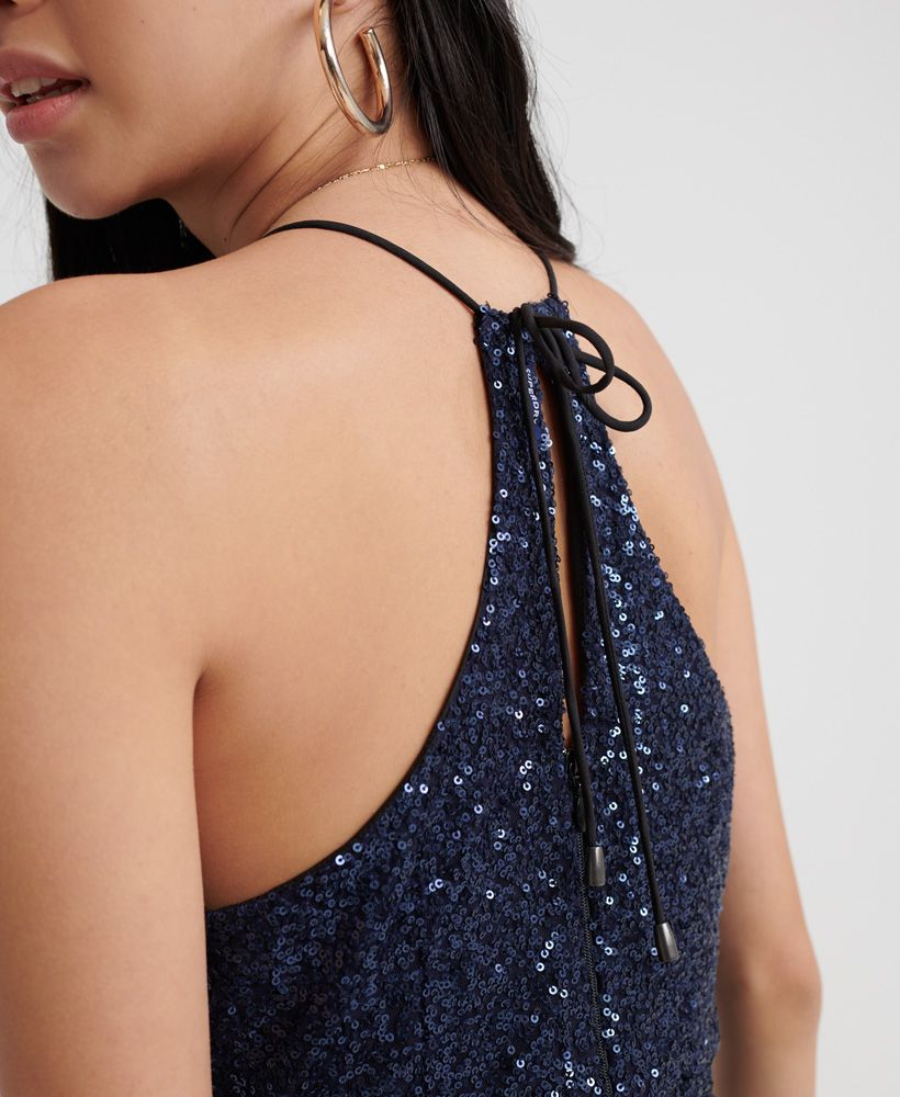 Superdry Athena Sequin Playsuit