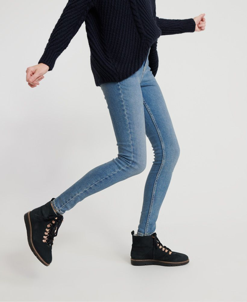 Superdry Super Crafted Skinny Mid Rise Jeans