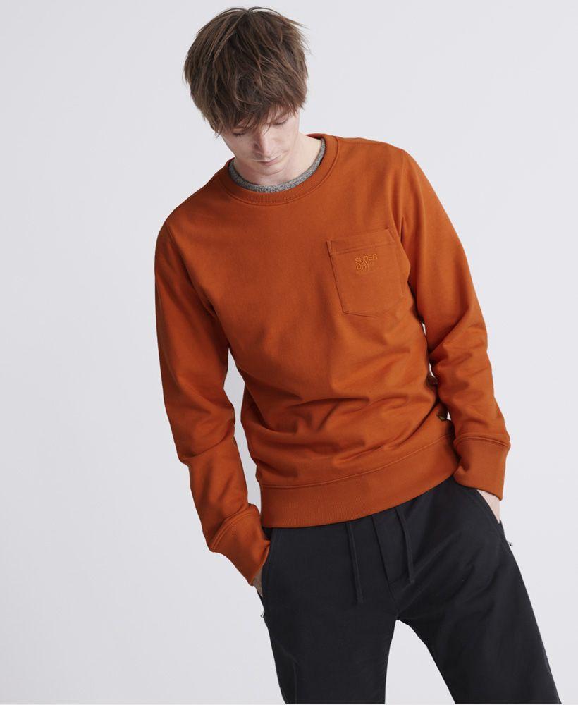 Superdry Denim Goods Co Loopback Crew Sweatshirt