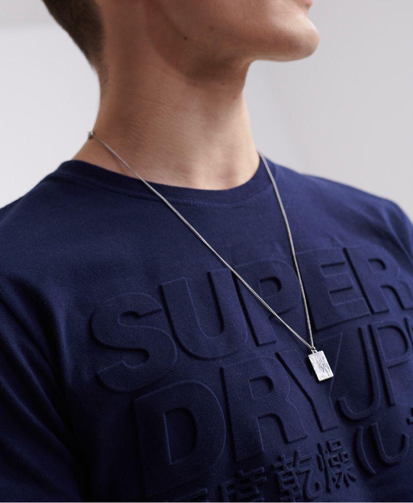Superdry Embossed Pastel Line T-Shirt