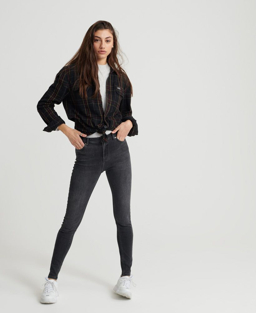 Superdry Superthermo- Skinny High Rise Jeans