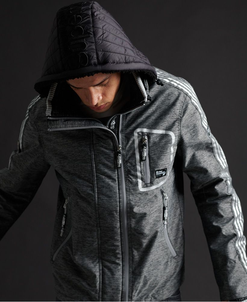 Superdry Limited Edition Hybrid Borg SD-Windcheater Jacket
