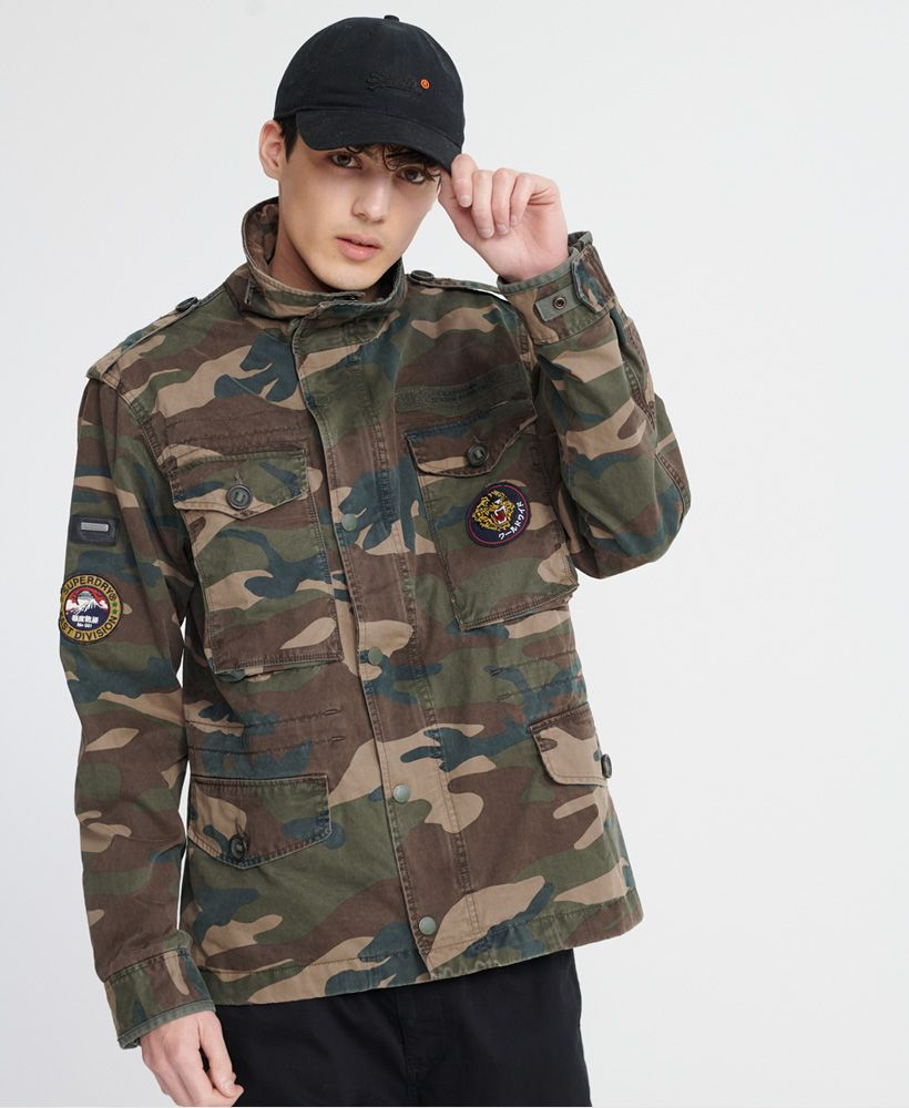 Superdry Patched Field Jacket