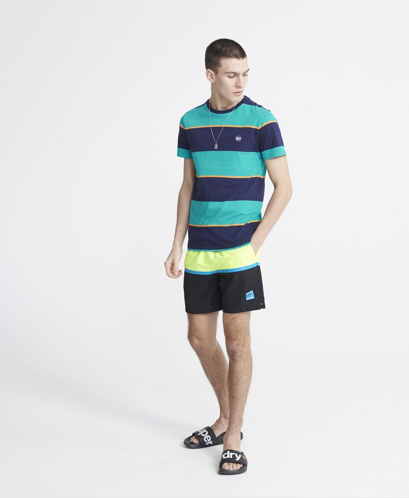 Superdry  Organic Cotton Collective Stripe T-Shirt