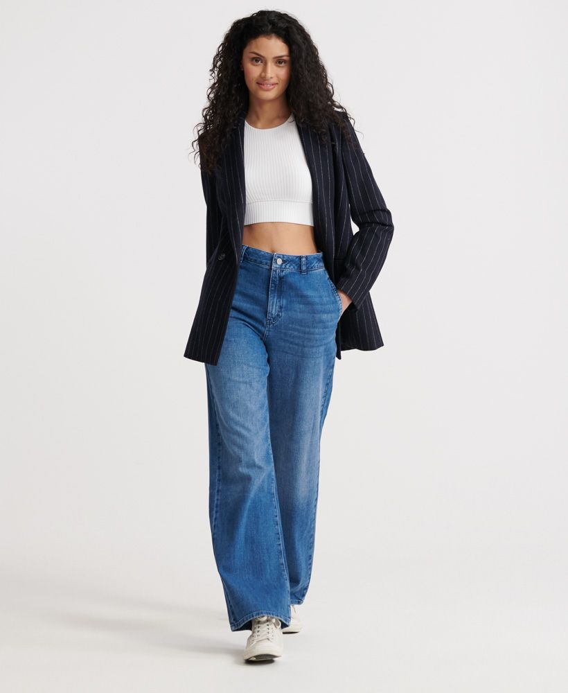 Superdry Tailored Wide Leg Jeans