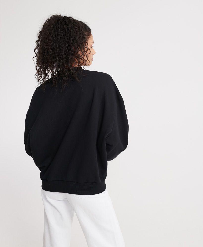 Superdry Slouchy Coded Loopback Sweatshirt