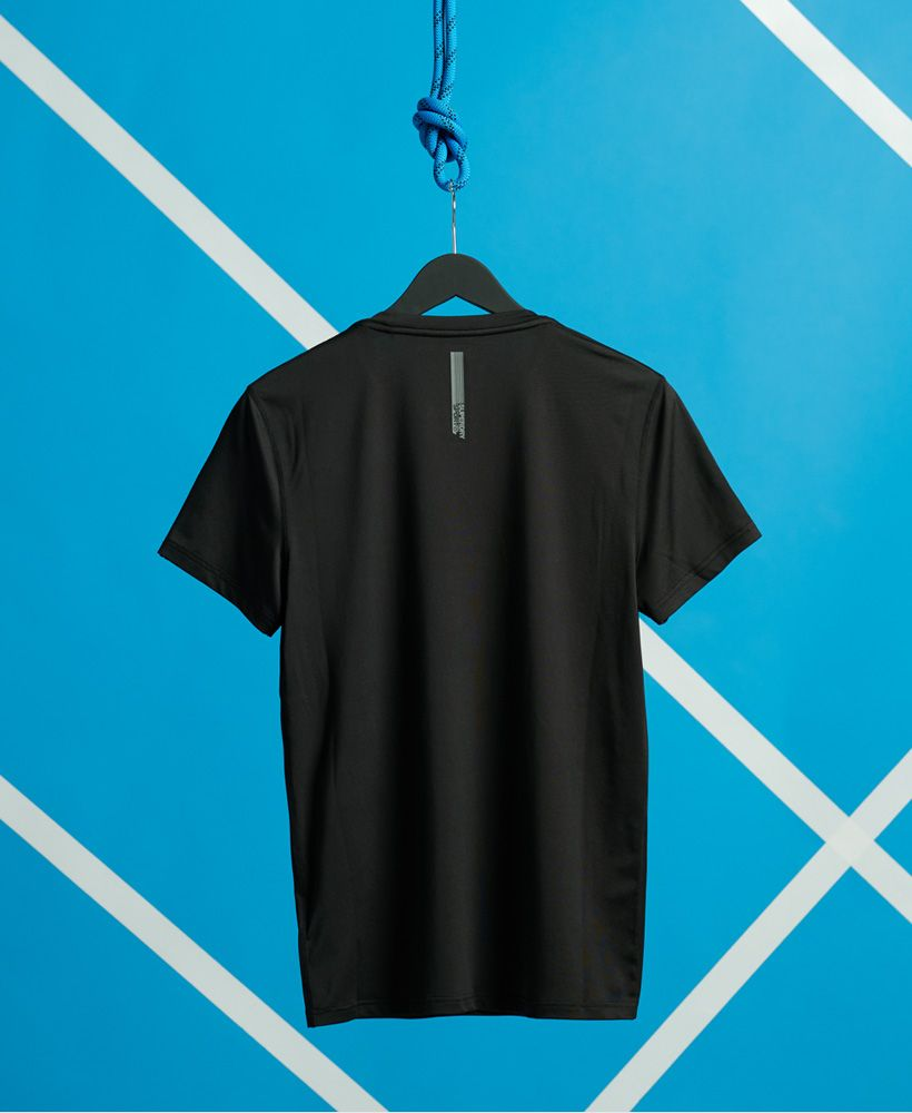 Superdry Training Slim Fit Taped T-shirt