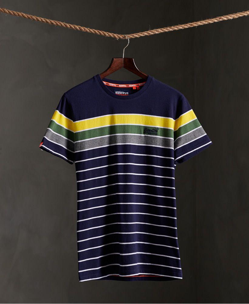 Superdry Organic Cotton Breton Stack T-Shirt