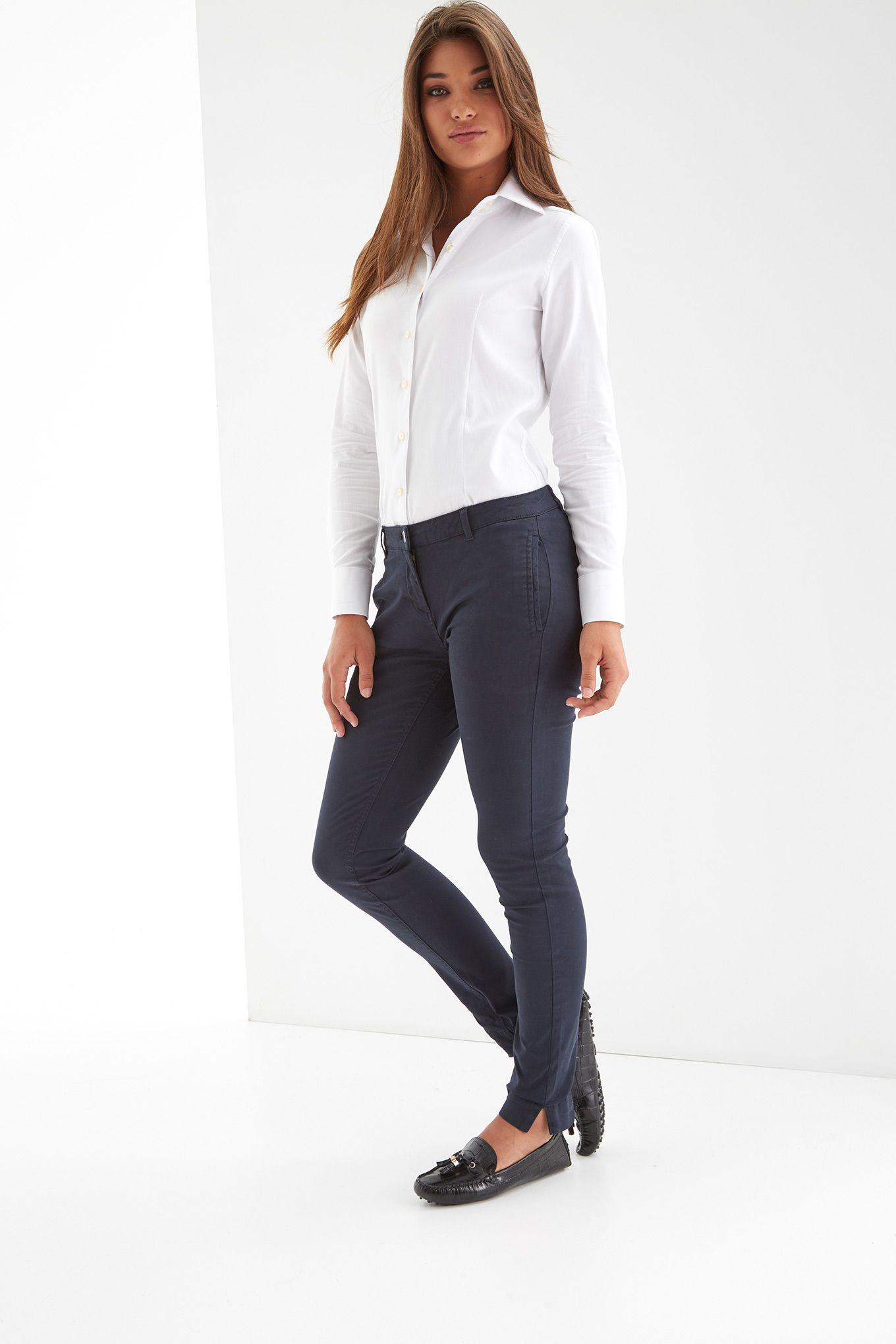 Women s Slim Chino Trousers