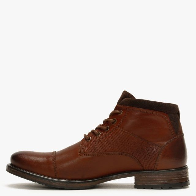 Ottonkern Leather Casual Ankle Boots