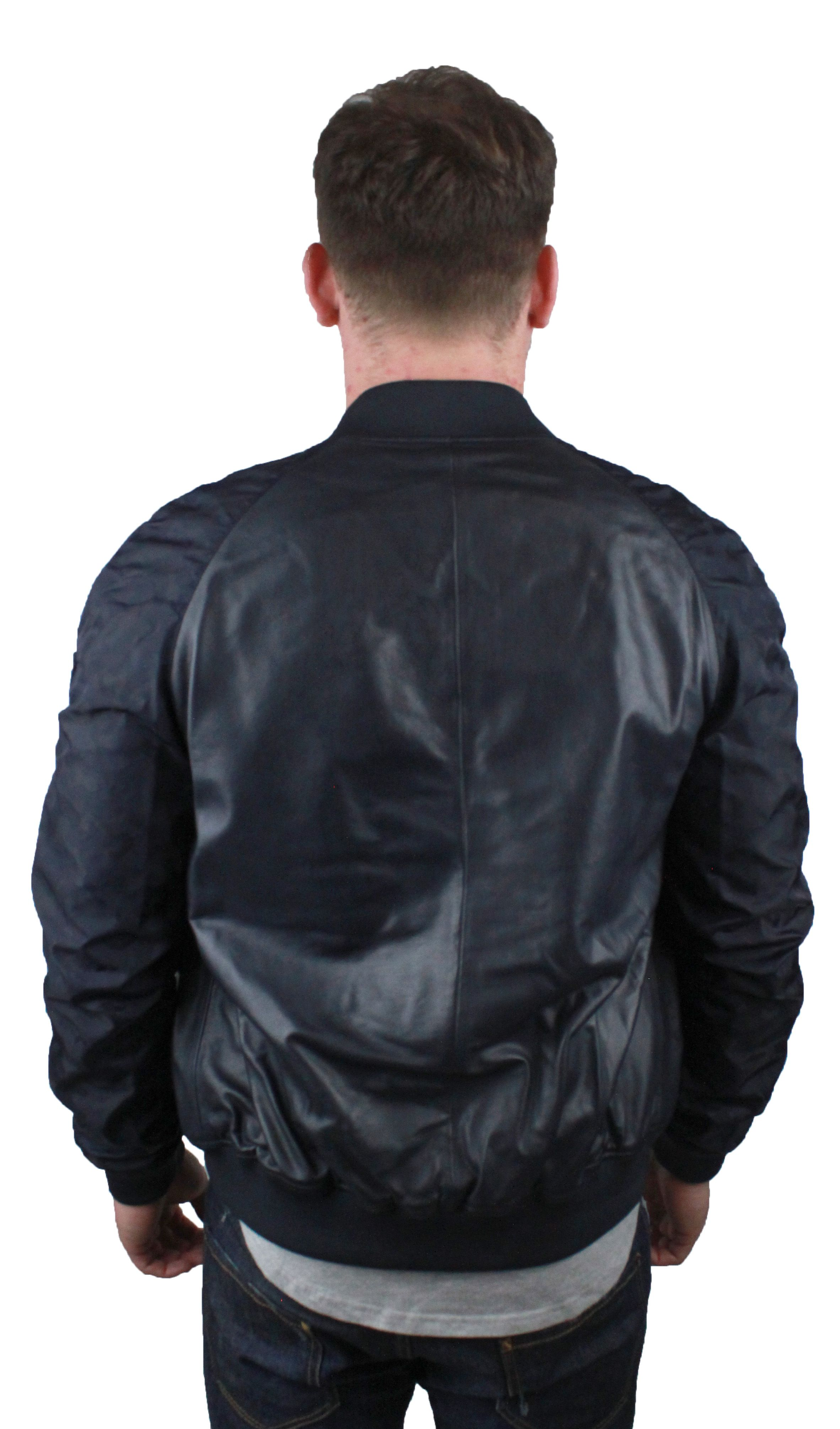 Emporio Armani W1B54P W1P58 0011  Leather Jacket