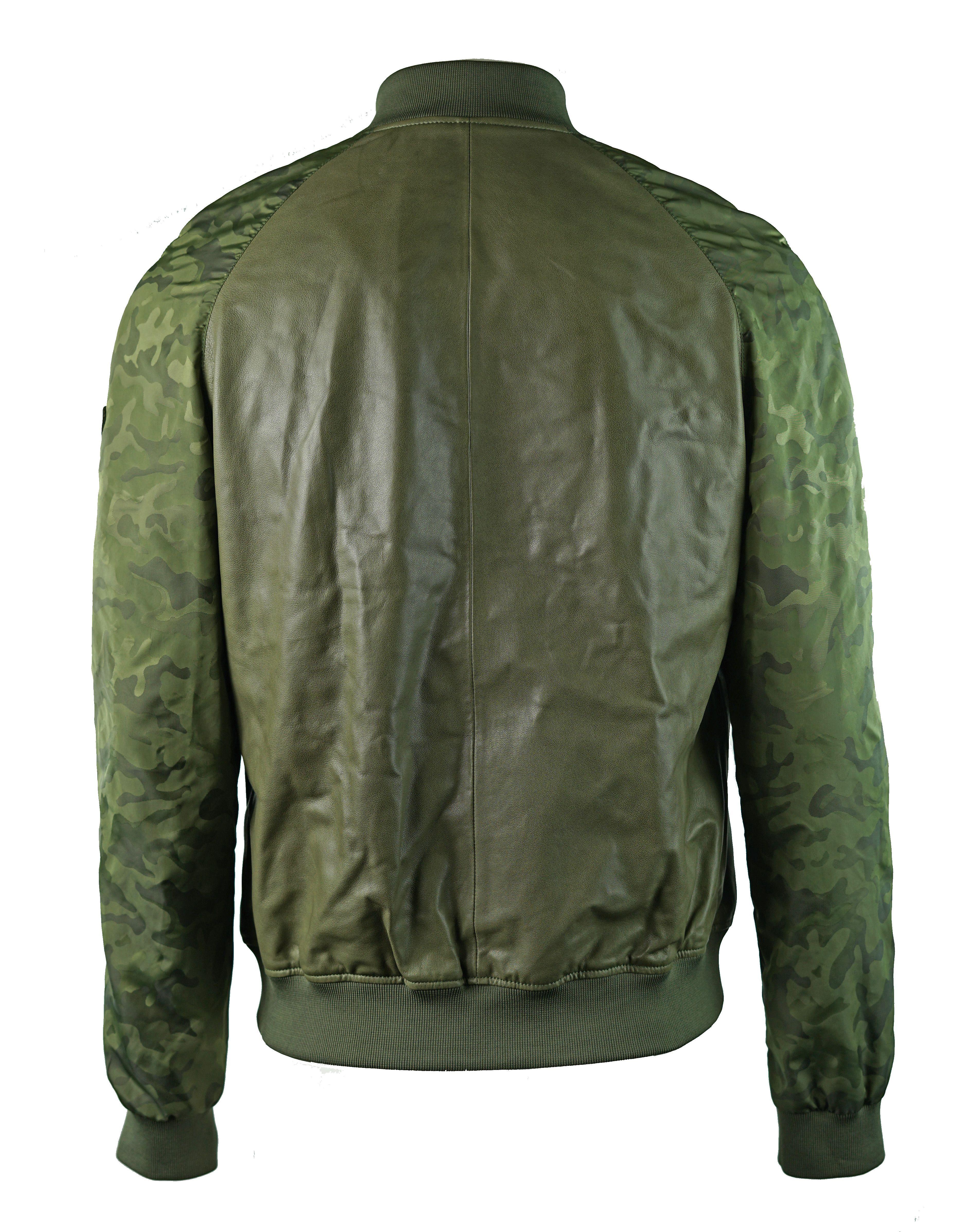 Emporio Armani W1B54P W1P58 010  Leather Jacket