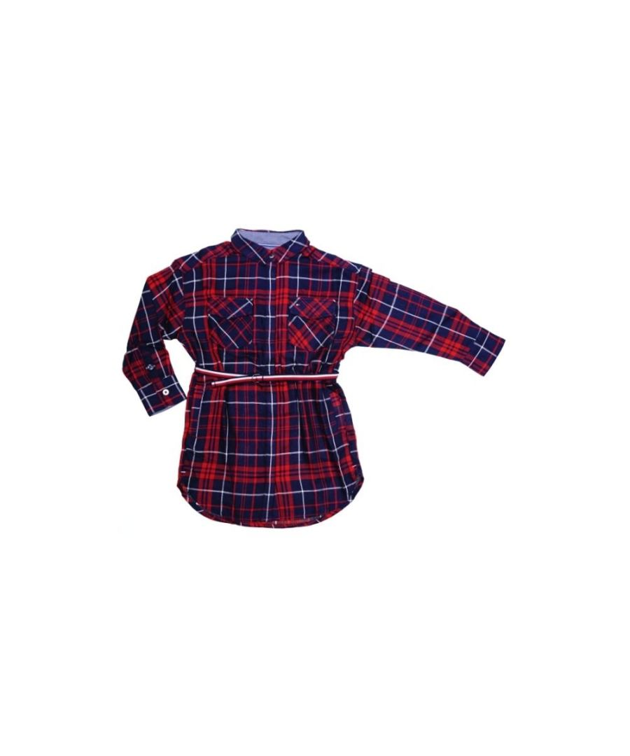 Image for Tommy Hilfiger Shirt Ame Check  Dress Long sleeve