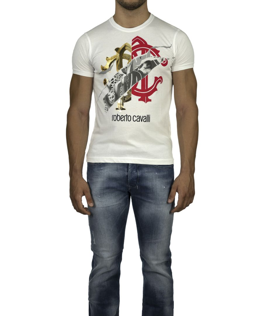 Image for Roberto Cavalli Printed T-shirt