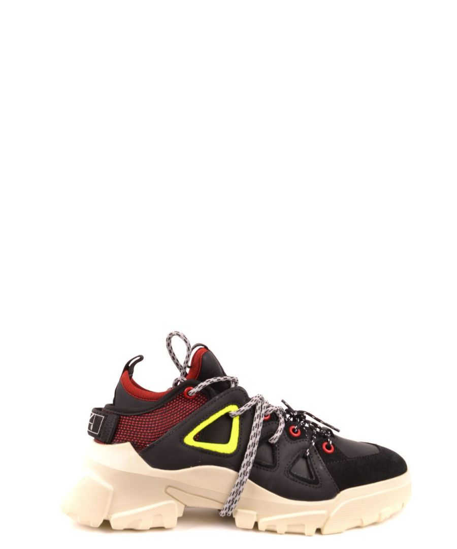 Image for MCQ BY ALEXANDER MCQUEEN WOMEN'S 573012R26341037 BLACK LEATHER SNEAKERS