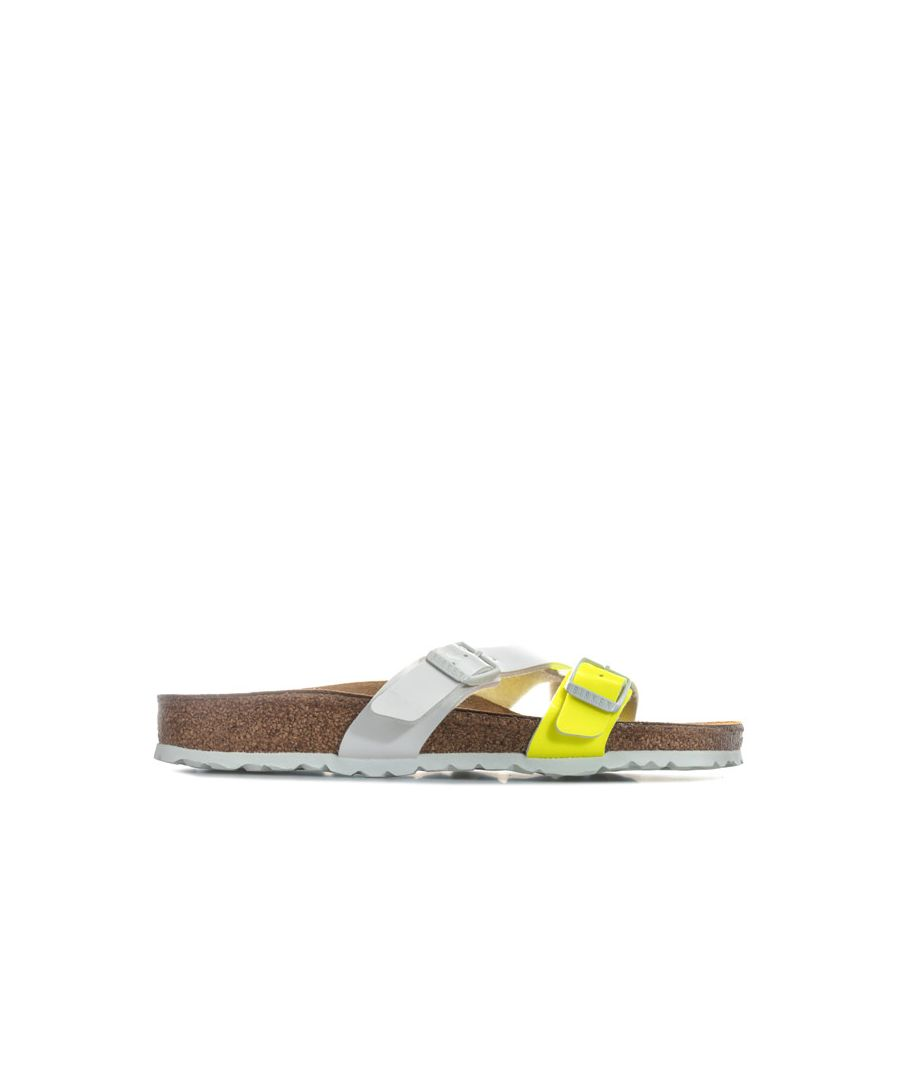 Image for Women's Birkenstock Yao Sandals Narrow Width in Yellow