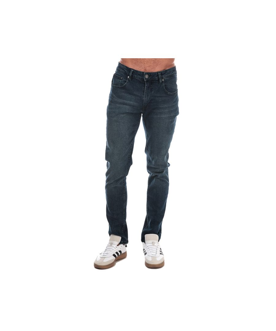 Image for Men's Ben Sherman Stretch Slim Fit Jeans in Denim