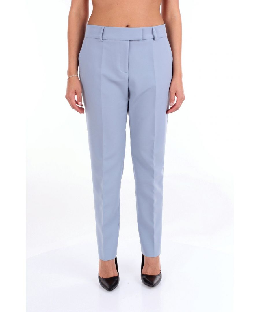 Image for ALESSANDRO DELL'ACQUA WOMEN'S ADW7016T181BECIELO LIGHT BLUE PANTS