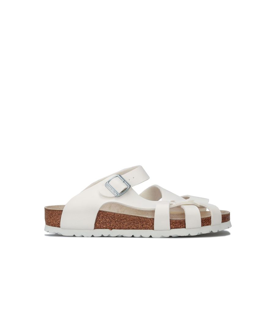 Image for Women's Birkenstock Pisa Sandals Regular Width in White