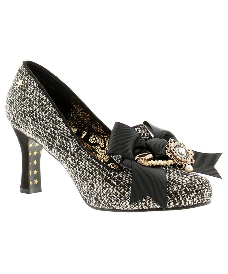 Image for Joe Browns Couture regal couture womens ladies occasion shoes black