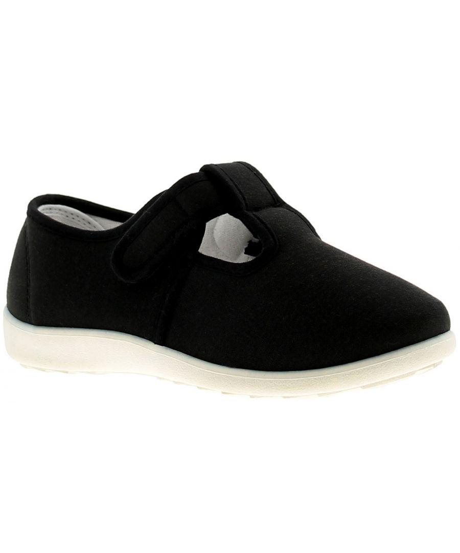 Image for Dr Keller Dr Cheryl Womens Ladies Canvas Shoes Pumps Trainers Black