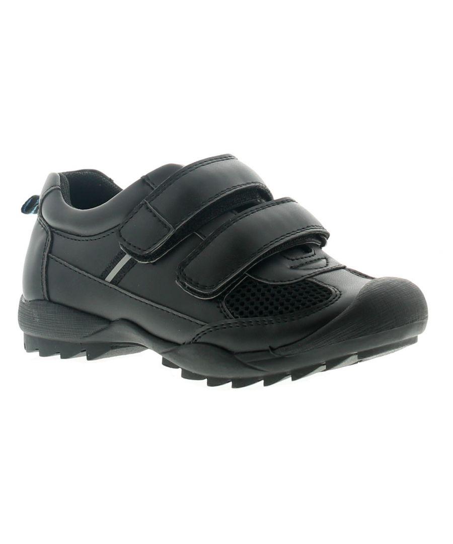 Image for Rockstorm Danny Boys Kids School Shoes Black