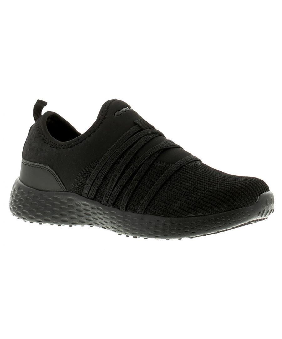 Image for Gola Mira Womens Ladies Trainers Black/White