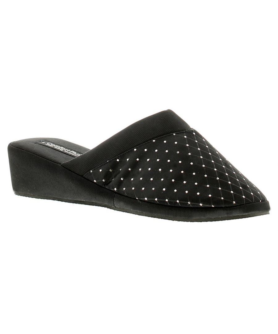 Image for Comfort Plus Alder Womens Ladies Mule Slippers