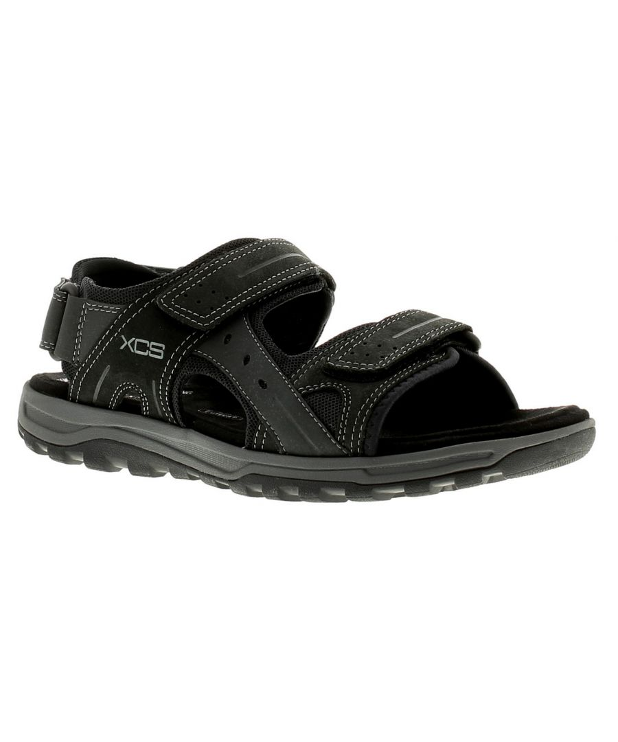 Image for Rockport Trail Technique Mens Casual Beach Sandals Black