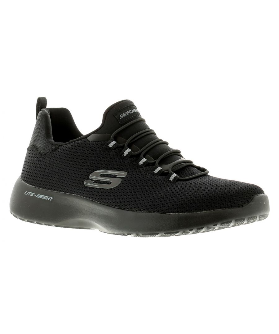 Image for Skechers Dynamight Mens Trainers Black