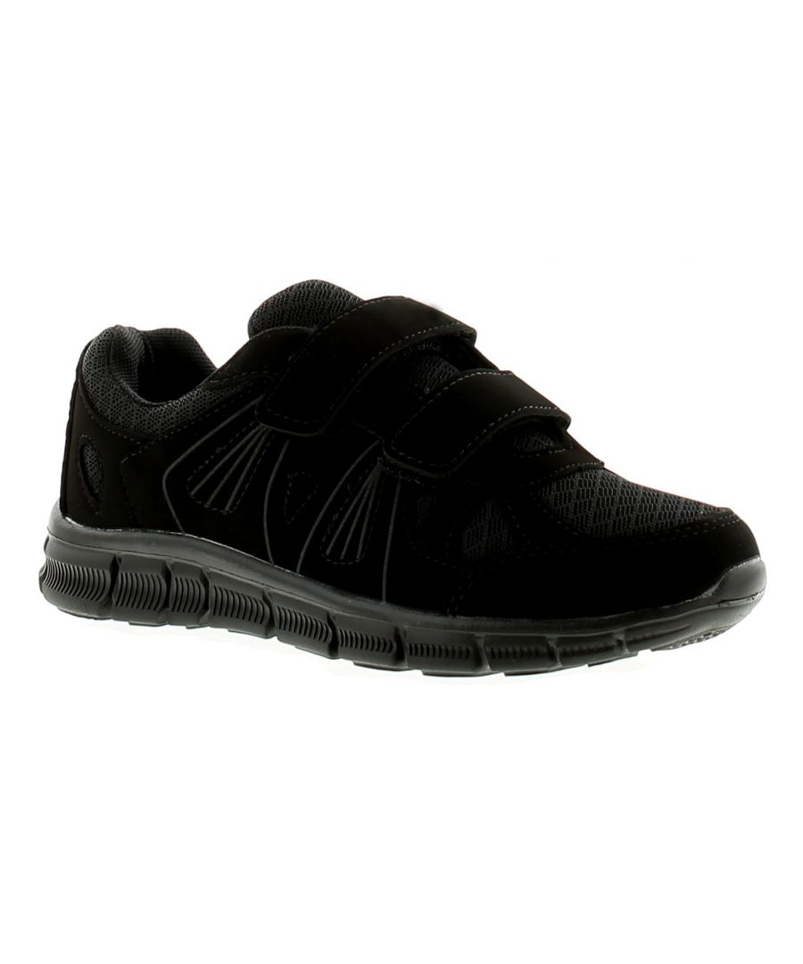 Image for Focus Ace Boys Kids Trainers Black