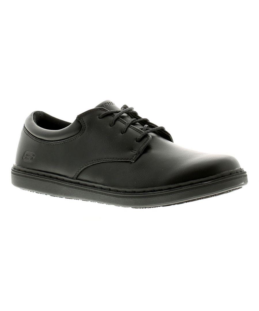 Image for Skechers Lanson Escape Mens Casual Shoes Black