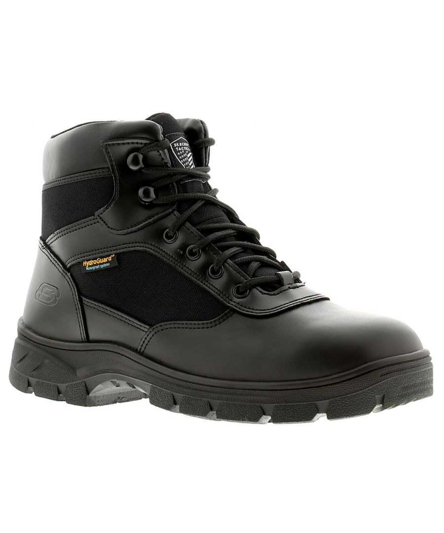 Image for Skechers Wascana Mens Safety Boots Black