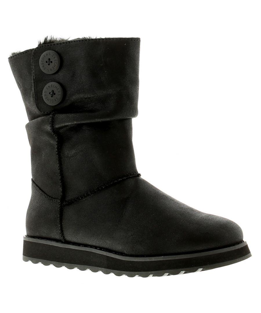 Image for Skechers Keepsake 2.0 Upland Womens Ladies Boots Black