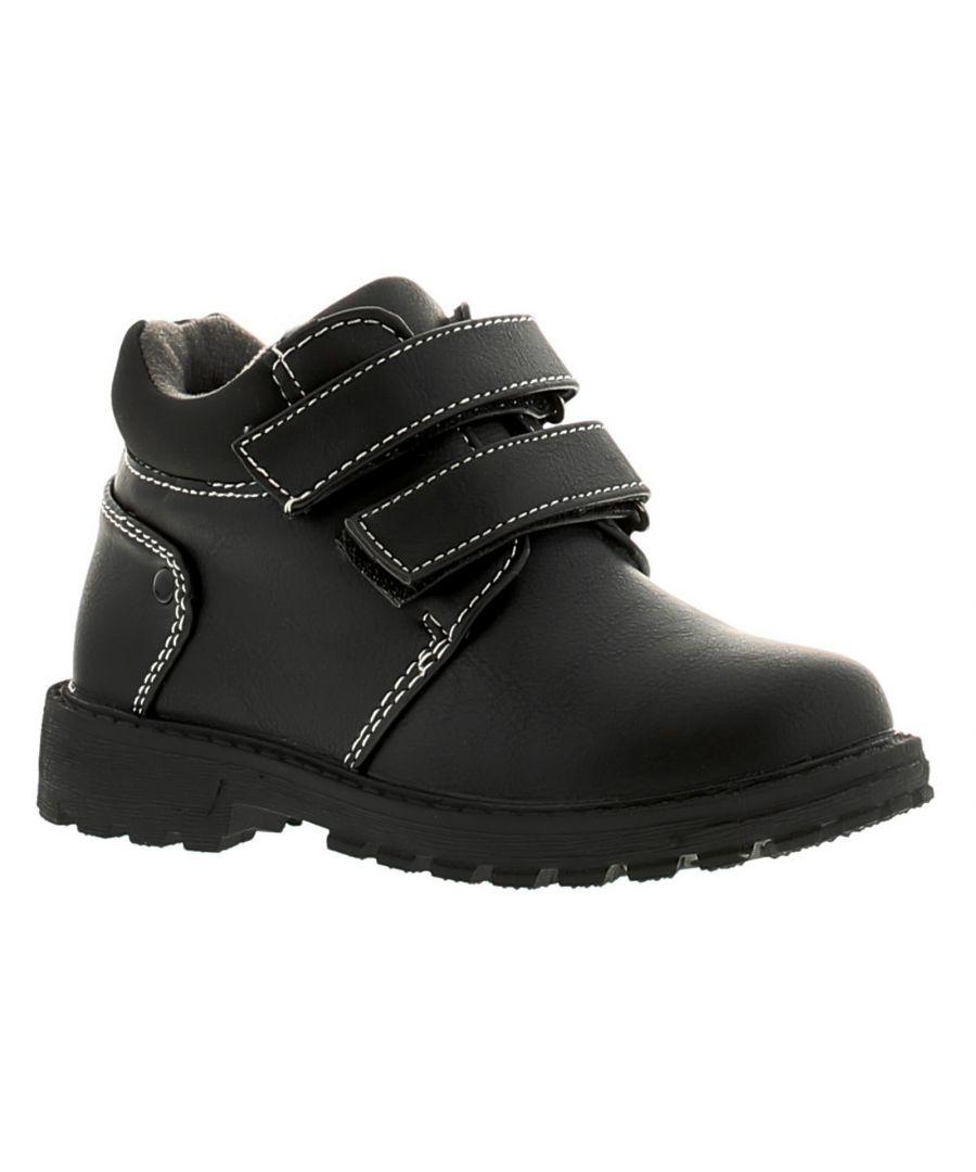 Image for Dinosaur Hunters Gabriel Boys Kids Boots Black