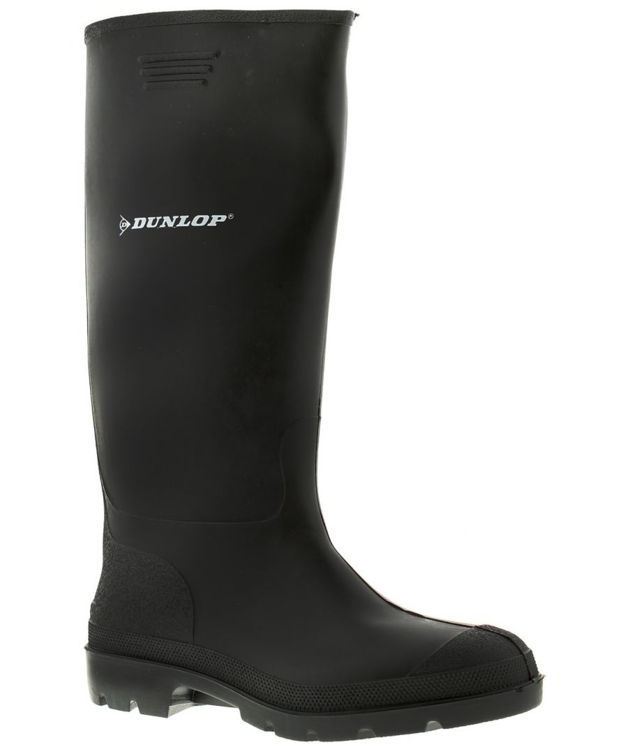Image for Dunlop Welly Mens Wellies Wellington Black