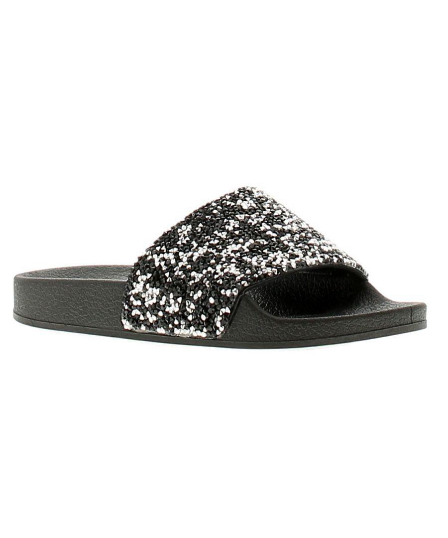 Image for Miss Riot scarlett girls sandals & sliders black