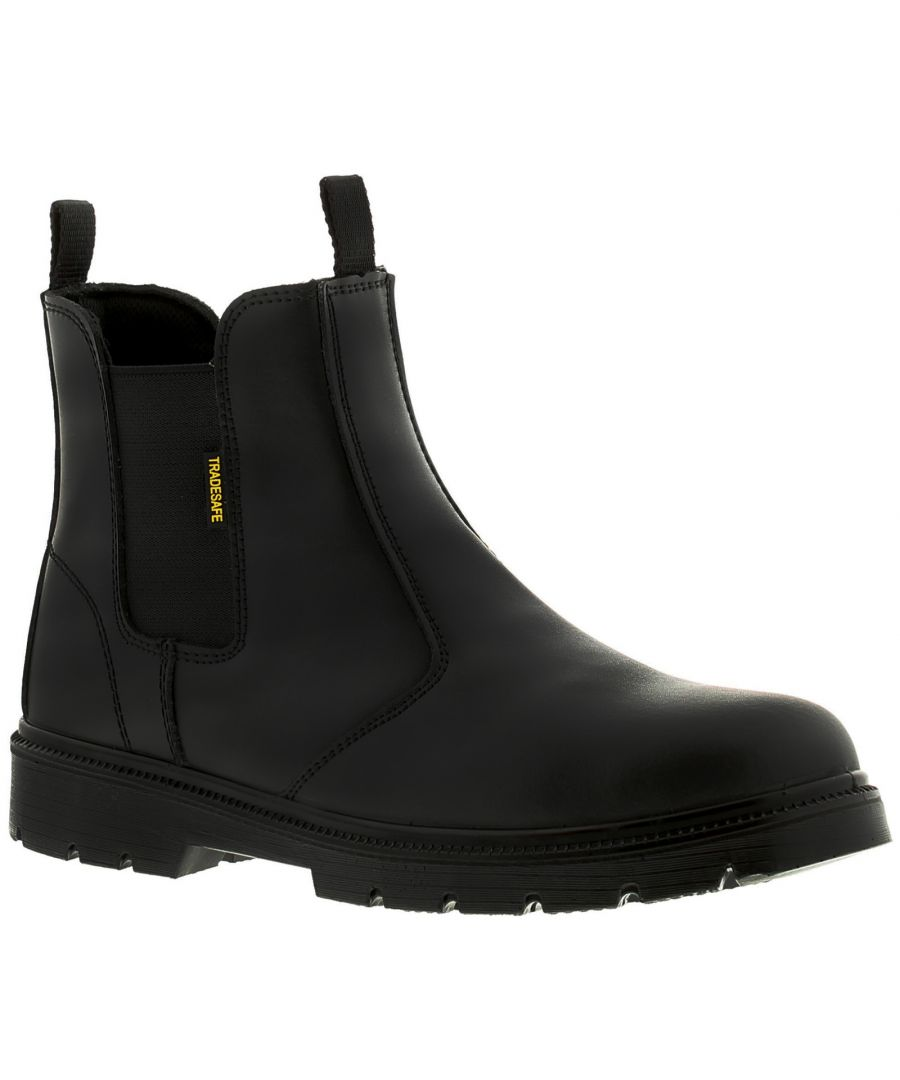 Image for Tradesafe Construct Mens Safety Boots Black