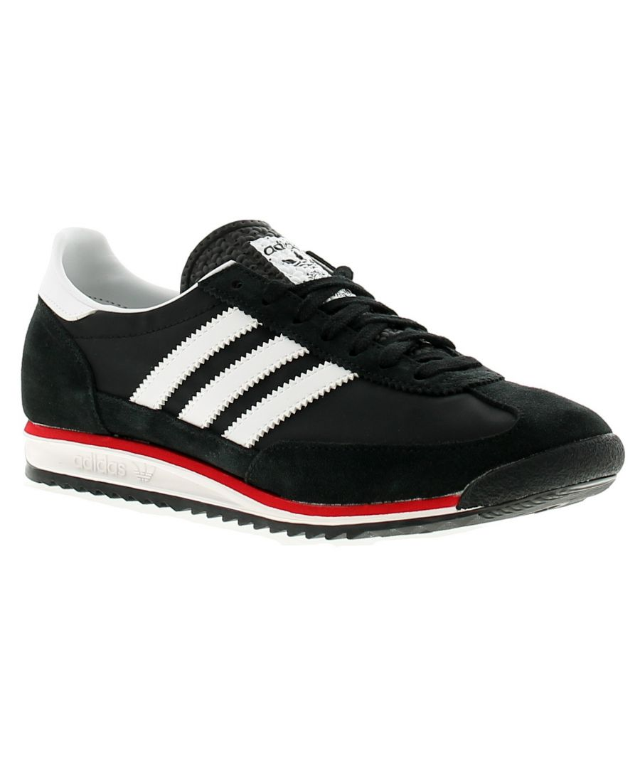 Image for Adidas Originals sl72 mens trainers black