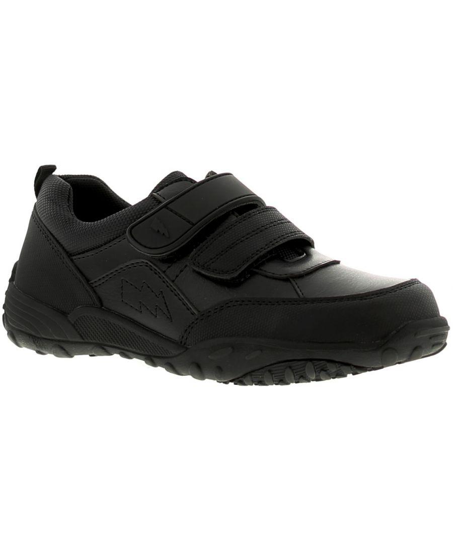Image for Rockstorm Blast Boys Kids School Shoes Black