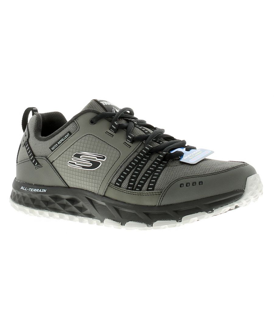 Image for Skechers escape plan mens walking hiking shoes black